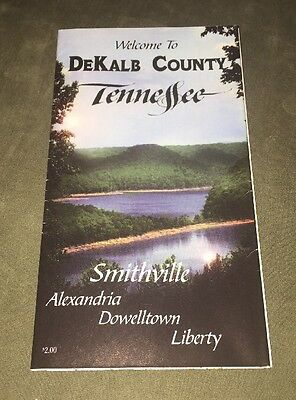 Map Of DeKalb County Tennessee including Smithville, Alexandria, Dowelltown