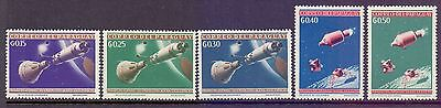 Paraguay  1964  Space (5), MNH.