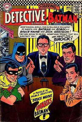 Detective Comics (1937 series) #357 in Very Good + condition. FREE bag/board