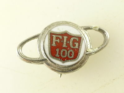 Vintage Farmers Insurance Group FIG 100 Pin Pinback Button