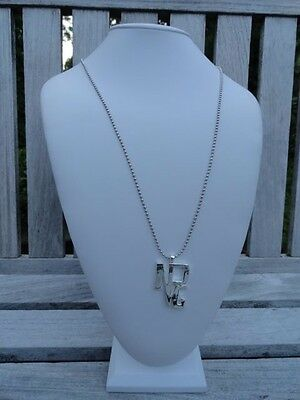 NPG Necklace Prince Symbol Chrome Official NPG Store 1990's Piano/Mic