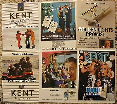 Collectable advertising,Kent cigarettes