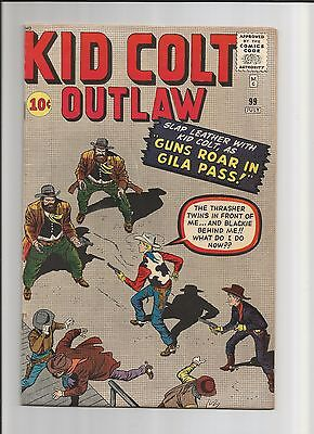 Kid Colt Outlaw #99 July 1961 - Superb F/VF Condition - (7.0) Comic Book