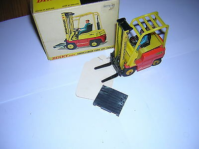 DINKY 404  CONVEYANCER FORKLIFT TRUCK in box with instructions