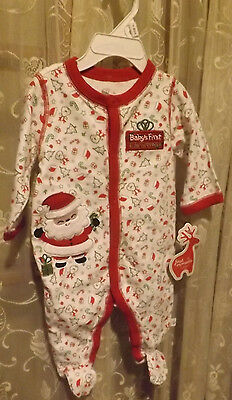 Infant's Onesie -Size 3 months  - Baby's 1st (First) Christmas -NEW