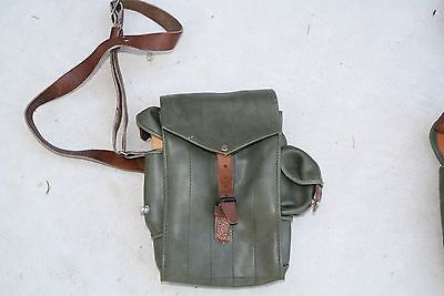 Magazine pouch 5 cell Leather shoulder strap