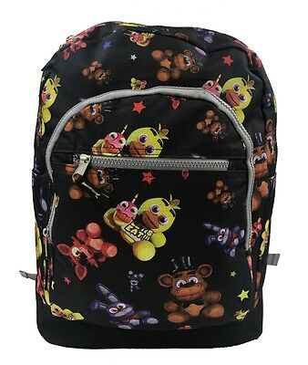 Freddy bear Five Nights at Freddy's Backpack Boys Kids School Backpack  USA SHIP