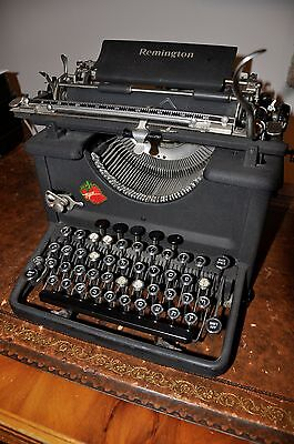 Very Rare Typewriter Yiddish Hebrew Script Vintage Remington  Highly Collectible