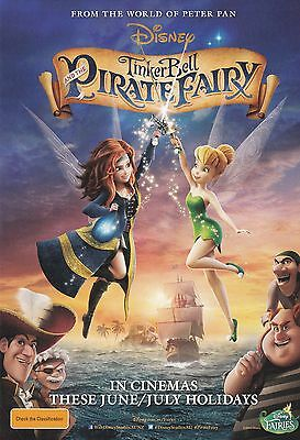 Promotional Movie Flyer - Disney's TINKER BELL AND THE PIRATE FAIRY (2014)