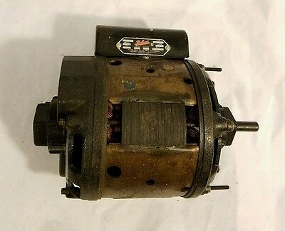 Vintage 1955 Packard GM Electric Motor 1/3HP S7622 6.9 AMP 115V 1140/1725 RPM