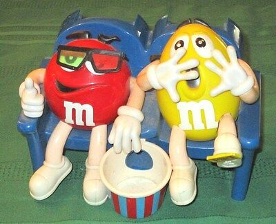 """Vintage M & M Candy Dispenser """"at The Movies In 3-D"""""""