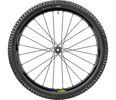 Couple Wheels / Wheels Mavic Mtb Xa Elite Black 27,5 / 29 2.35 2017