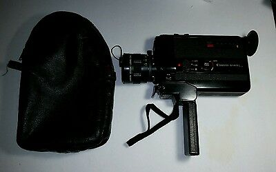 Vintage Canon 514XL Super 8 Film Recorder with Bag -