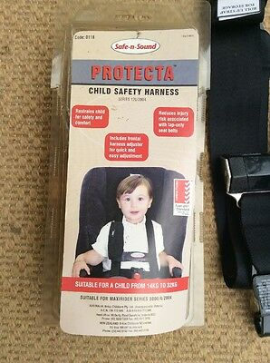 Safe N Sound Protecta Plus Child Safety Harness Near New Condition