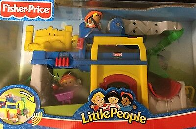 Fisher Price Little People Fun Sounds Crane And Quarry