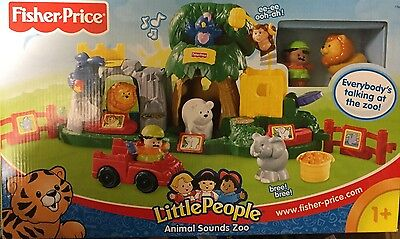 Fisher Price Little People Animal Sounds Zoo