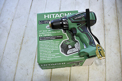 HITACHI 18V 13mm CORDLESS/BRUSHLESS IMPACT DRIVER DRILL - NEW