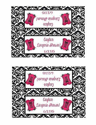 Bachelorette Party Bag Toppers Lingerie Personalized