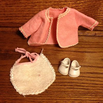 50's Vogue Ginnette jacket bib shoes labeled lot of 4