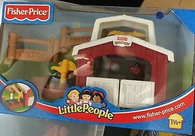 Fisher Price Little People Horse Stable