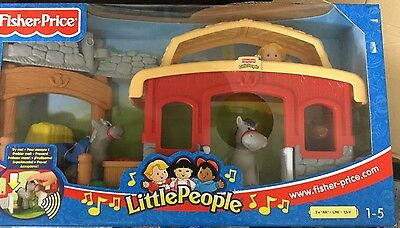 Fisher Price Little People Animal Sounds Stable