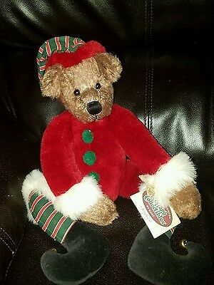 Ganz Cottage Collectibles Jingles Teddy Bear Holstad 1999 edition.