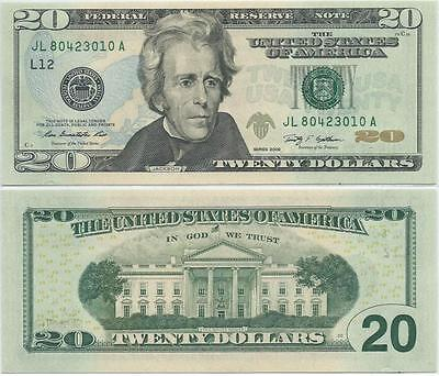 16 - 2009 Twenty Dollar $20 Federal Reserve Note FRN San Franscisco - F#2095L