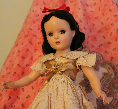 "Vintage Madame Alexander Snow White Doll, composition, 17"", all original"