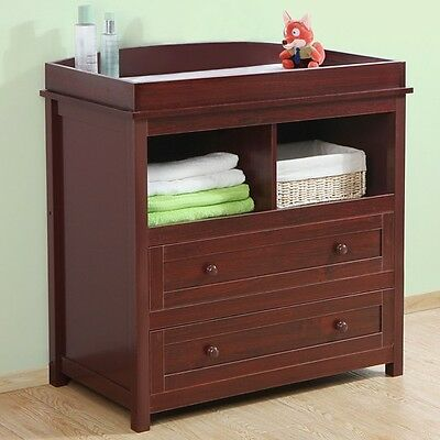 Baby Changing Unit Chest of Drawers Multi-functional Furniture of Storage Space