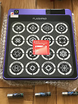 FlashPad Infinite Touchscreen Electronic Game with 16 Games in Purple BNIB
