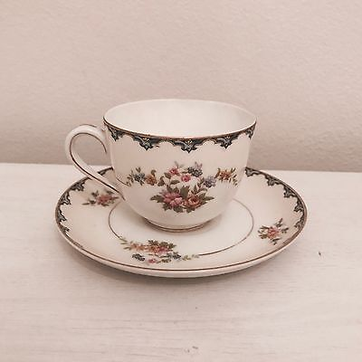 Vintage Small Coffee / Tea Cup & Saucer