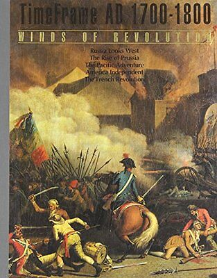 USED (VG) Winds of Revolution: Time Frame AD 1700-1800 (Time Frame) by Time Life
