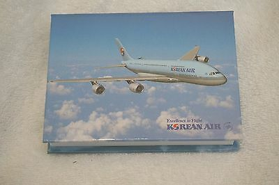 Korean Air Airlines Airways Notepad Post It Notes New Sealed