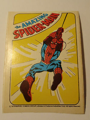 the amazing Spider-Man - Aufkleber - Sticker - original Marvel von 1979!!