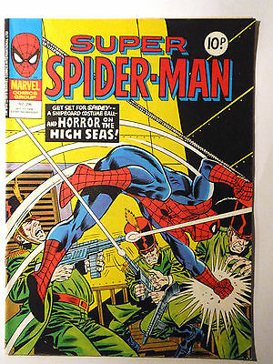 Super Spider-Man #296 - Marvel UK (United Kingdom) aus dem Jahr 1978 - Vintage!!