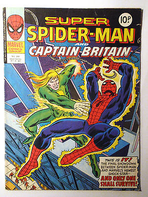 Super Spider-Man #246 - Marvel UK (United Kingdom) aus dem Jahr 1977 - Vintage!!