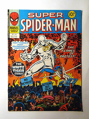 Super Spider-Man #263 - Marvel UK (United Kingdom) aus dem Jahr 1978 - Vintage!!