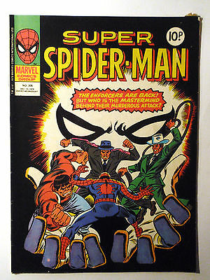 Super Spider-Man #305 - Marvel UK (United Kingdom) aus dem Jahr 1978 - Vintage!!