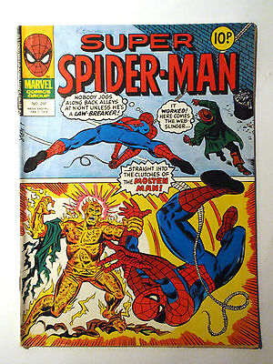 Super Spider-Man #260 - Marvel UK (United Kingdom) aus dem Jahr 1978 - Vintage!!