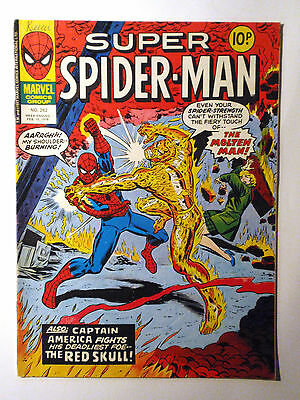 Super Spider-Man #262 - Marvel UK (United Kingdom) aus dem Jahr 1978 - Vintage!!
