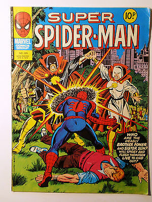 Super Spider-Man #269 - Marvel UK (United Kingdom) aus dem Jahr 1978 - Vintage!!