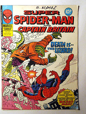 Super Spider-Man #237 - Marvel UK (United Kingdom) aus dem Jahr 1977 - Vintage!!