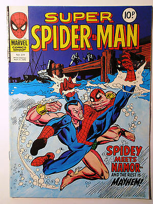 Super Spider-Man #277 - Marvel UK (United Kingdom) aus dem Jahr 1978 - Vintage!!