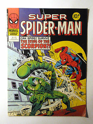 Super Spider-Man #310 - Marvel UK (United Kingdom) aus dem Jahr 1979 - Vintage!!