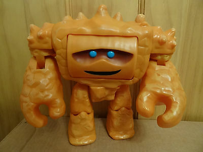 Disney Store Chunk face changing rocks in his head large thinkway toy