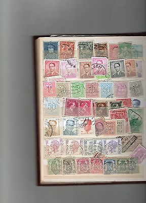 Belgium stamps page (2)- see scan