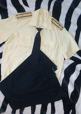 USSR - Uniform of a Soviet officer, Soviet Navy Shirt with a tie and pants.