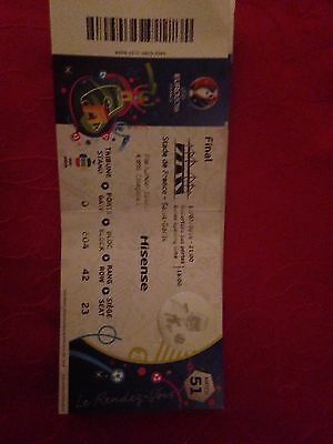 Collection Euro 2016 : Ticket/billet France Vs Portugal Match 51