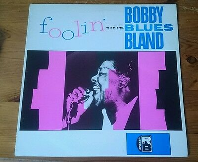 Bobby Blue Bland Foolin With The Blues Charly LP