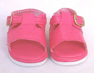 Pink Sandals, Doll Shoes 4 Zapf Baby Born / Baby Alive
